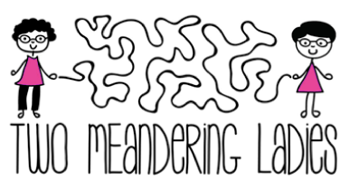 Two Meandering Ladies logo